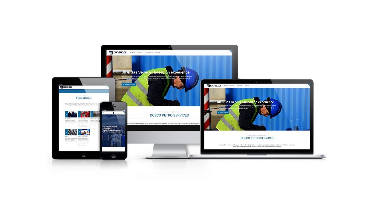 Dosco Petro Services Webdesign