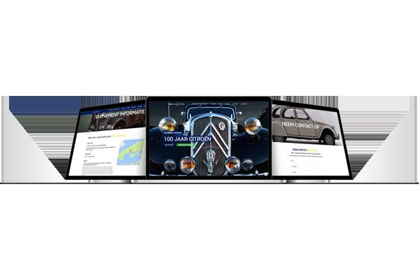 100 jaar Citroën website